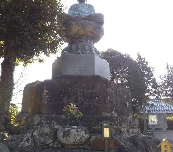 【松江石碑】雑賀町「廬舎那仏碑」